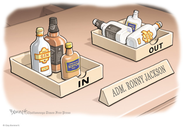 Cartoonist Clay Bennett  Clay Bennett's Editorial Cartoons 2018-04-25 editorial