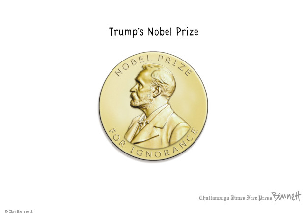 Cartoonist Clay Bennett  Clay Bennett's Editorial Cartoons 2018-05-02 editorial