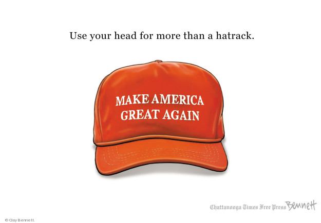 Cartoonist Clay Bennett  Clay Bennett's Editorial Cartoons 2018-05-07 editorial