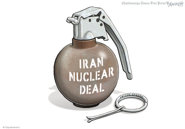 Cartoonist Clay Bennett  Clay Bennett's Editorial Cartoons 2018-05-09 weapon