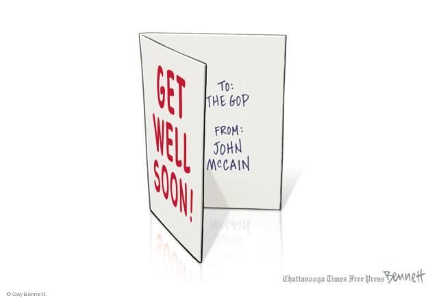 Clay Bennett  Clay Bennett's Editorial Cartoons 2018-05-15 republican party