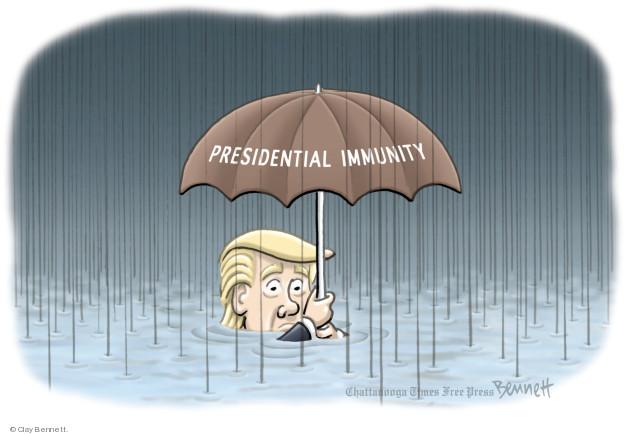 Clay Bennett  Clay Bennett's Editorial Cartoons 2018-05-18 immunity