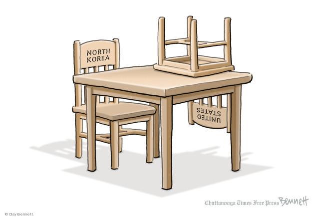 Cartoonist Clay Bennett  Clay Bennett's Editorial Cartoons 2018-05-25 nuclear