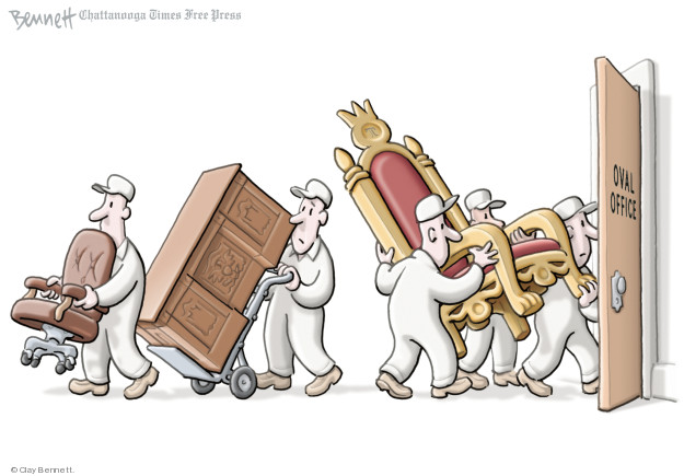 Cartoonist Clay Bennett  Clay Bennett's Editorial Cartoons 2018-06-07 office