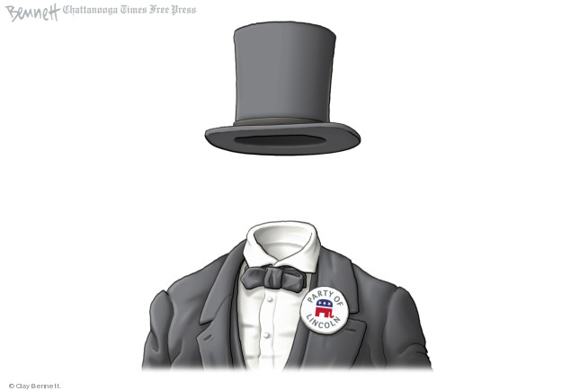 Clay Bennett  Clay Bennett's Editorial Cartoons 2018-06-22 party