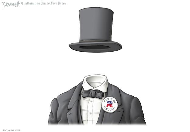 Clay Bennett  Clay Bennett's Editorial Cartoons 2018-06-22 political party