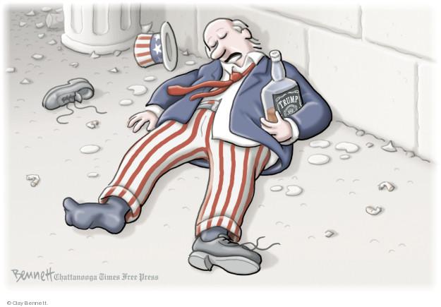 Clay Bennett  Clay Bennett's Editorial Cartoons 2018-06-27 Uncle Sam