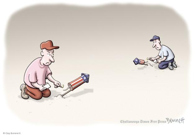 Clay Bennett  Clay Bennett's Editorial Cartoons 2018-07-03 July