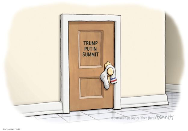 Clay Bennett  Clay Bennett's Editorial Cartoons 2018-07-12 Vladimir Putin
