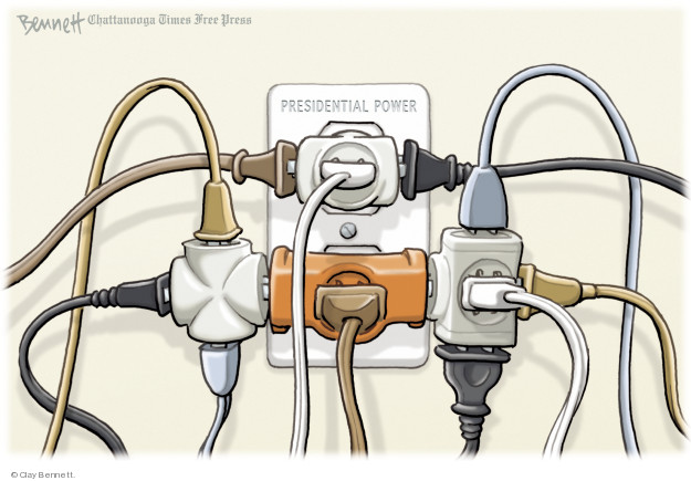 Cartoonist Clay Bennett  Clay Bennett's Editorial Cartoons 2018-07-24 democracy