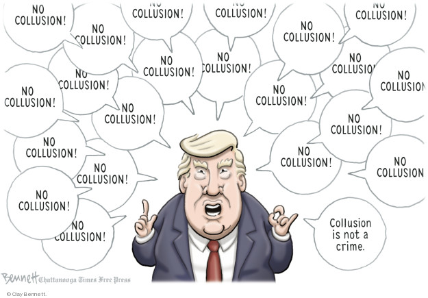 Clay Bennett  Clay Bennett's Editorial Cartoons 2018-07-31 Donald