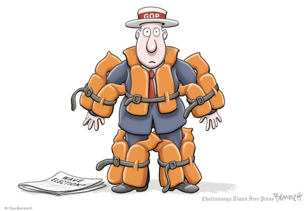 Clay Bennett  Clay Bennett's Editorial Cartoons 2018-08-09 party
