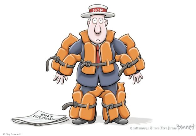 Clay Bennett  Clay Bennett's Editorial Cartoons 2018-08-09 political party