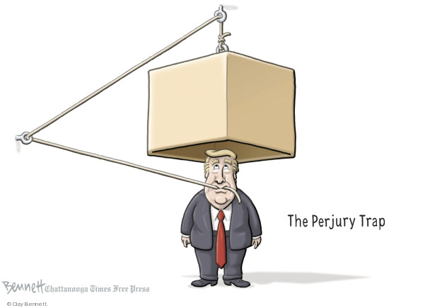 Cartoonist Clay Bennett  Clay Bennett's Editorial Cartoons 2018-08-13 Russia Collusion