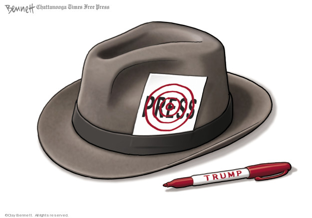 Clay Bennett  Clay Bennett's Editorial Cartoons 2018-08-16 freedom