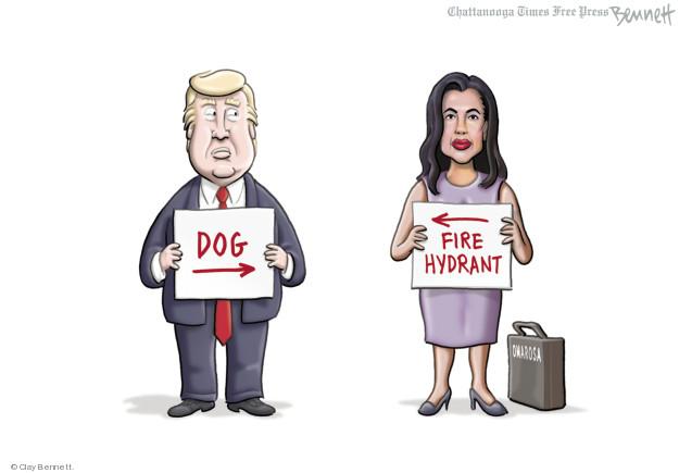 Clay Bennett  Clay Bennett's Editorial Cartoons 2018-08-17 Donald