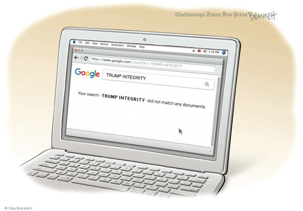 Cartoonist Clay Bennett  Clay Bennett's Editorial Cartoons 2018-08-29 state politician