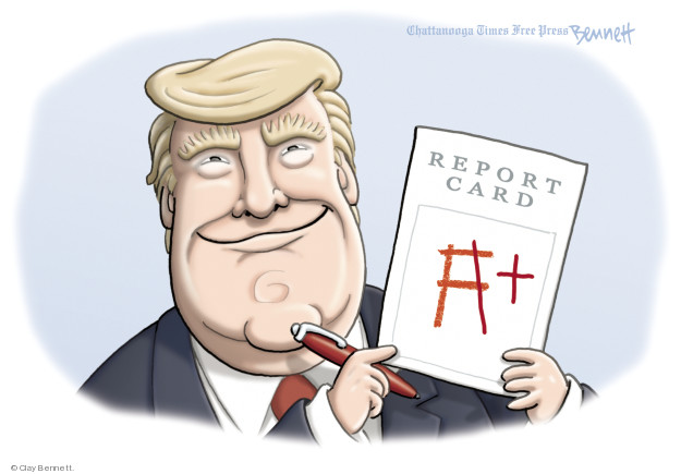 Clay Bennett  Clay Bennett's Editorial Cartoons 2018-09-04 Donald
