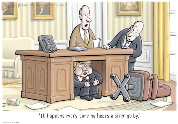 Cartoonist Clay Bennett  Clay Bennett's Editorial Cartoons 2018-09-09 office