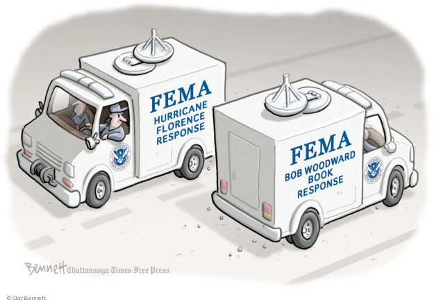 Clay Bennett  Clay Bennett's Editorial Cartoons 2018-09-12 natural
