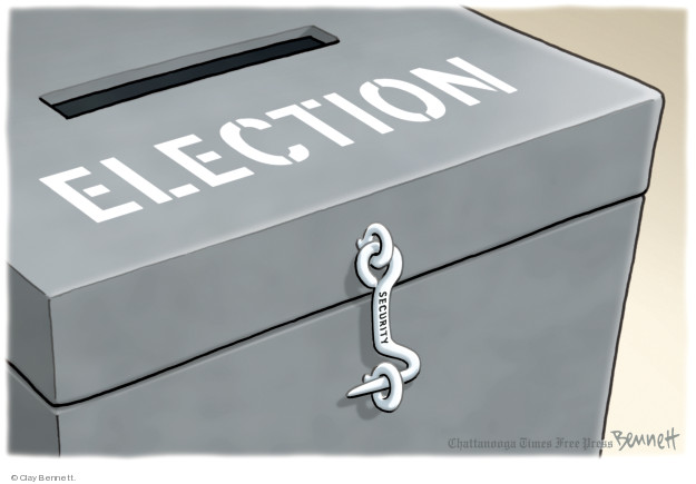 Cartoonist Clay Bennett  Clay Bennett's Editorial Cartoons 2018-09-16 vote