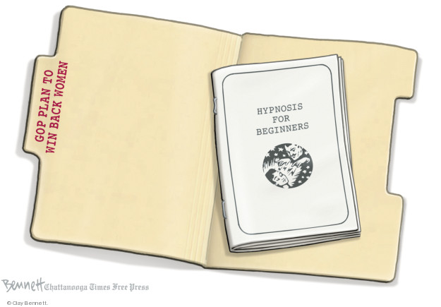 Clay Bennett  Clay Bennett's Editorial Cartoons 2018-09-21 party