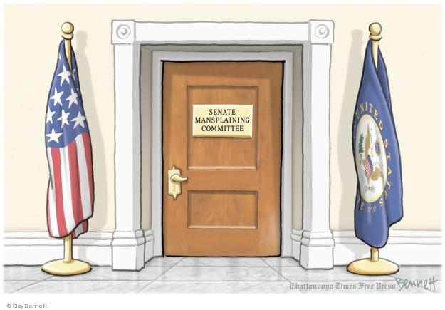 Cartoonist Clay Bennett  Clay Bennett's Editorial Cartoons 2018-09-24 supreme court justice