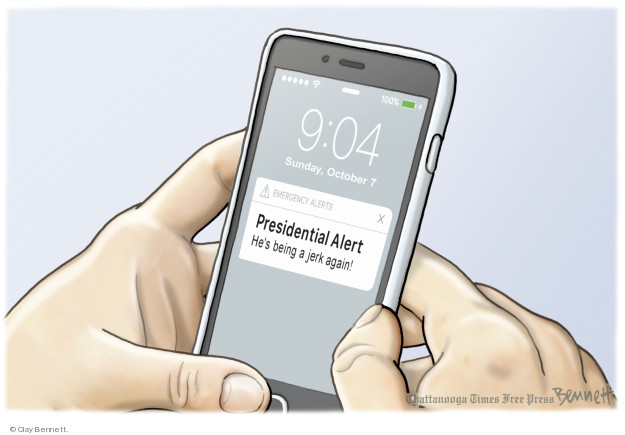 Clay Bennett  Clay Bennett's Editorial Cartoons 2018-10-07 Donald