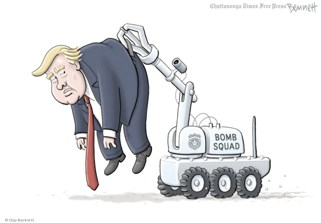 Clay Bennett  Clay Bennett's Editorial Cartoons 2018-10-26 Donald