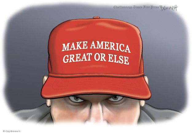 Clay Bennett  Clay Bennett's Editorial Cartoons 2018-11-04 Donald