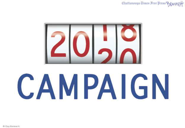 Clay Bennett  Clay Bennett's Editorial Cartoons 2018-11-07 candidate