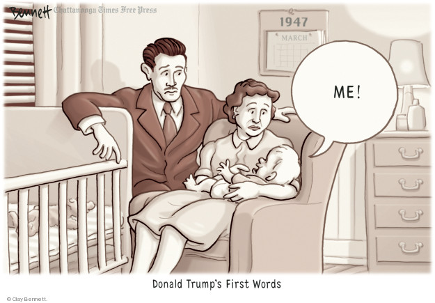 Clay Bennett  Clay Bennett's Editorial Cartoons 2018-11-18 vocabulary