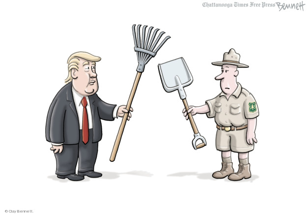 Clay Bennett  Clay Bennett's Editorial Cartoons 2018-11-25 natural
