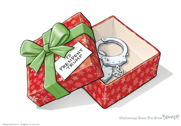 Cartoonist Clay Bennett  Clay Bennett's Editorial Cartoons 2018-12-26 Robert Mueller