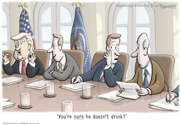 Cartoonist Clay Bennett  Clay Bennett's Editorial Cartoons 2019-01-06 behavior