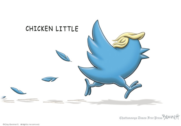 Clay Bennett  Clay Bennett's Editorial Cartoons 2019-01-13 Twitter