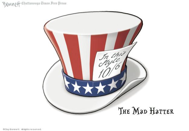 Clay Bennett  Clay Bennett's Editorial Cartoons 2019-01-11 Donald