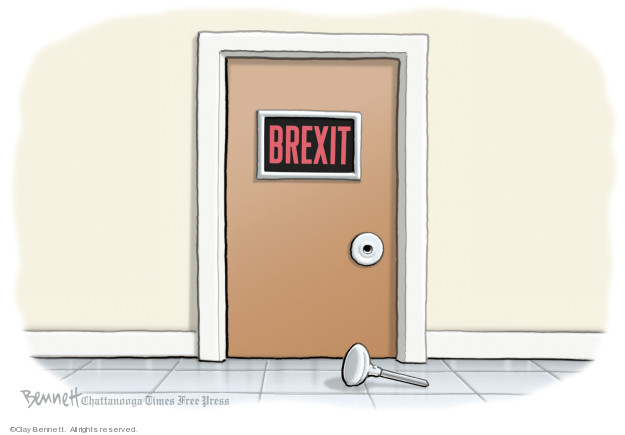 Cartoonist Clay Bennett  Clay Bennett's Editorial Cartoons 2019-01-16 vote