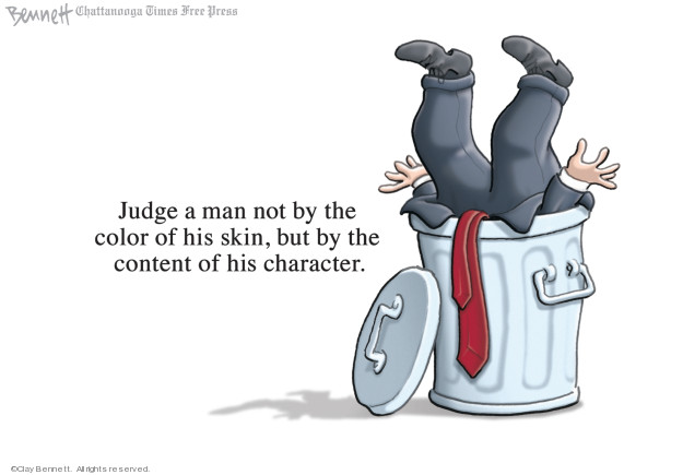 Cartoonist Clay Bennett  Clay Bennett's Editorial Cartoons 2019-01-21 reverend