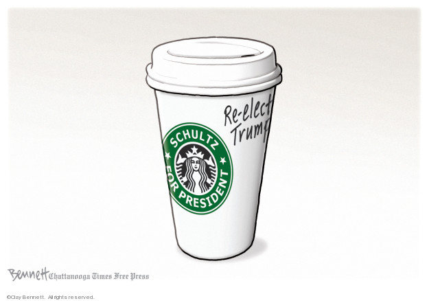 Clay Bennett  Clay Bennett's Editorial Cartoons 2019-01-30 party