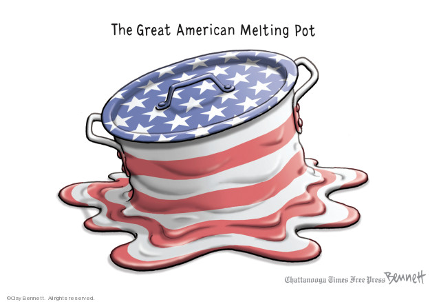 Cartoonist Clay Bennett  Clay Bennett's Editorial Cartoons 2019-02-12 racial