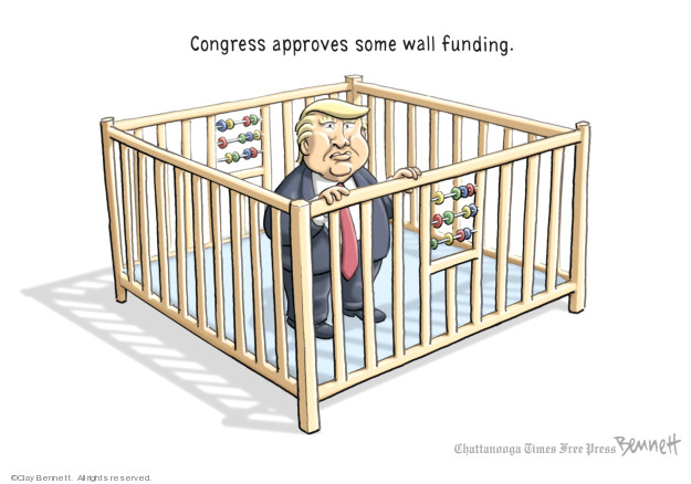 Cartoonist Clay Bennett  Clay Bennett's Editorial Cartoons 2019-02-13 editorial