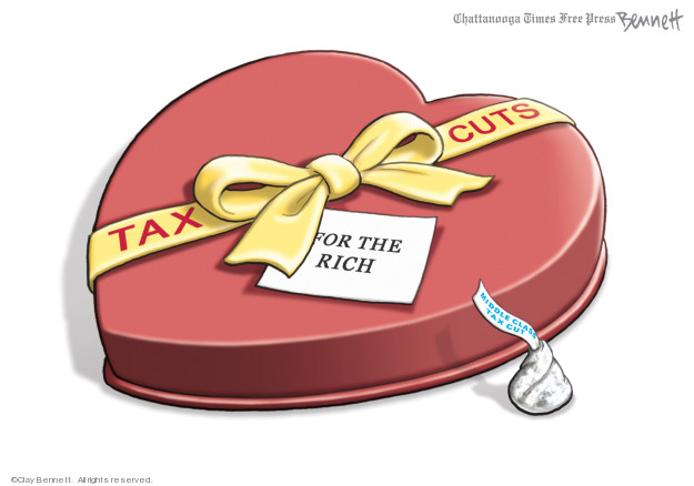 Cartoonist Clay Bennett  Clay Bennett's Editorial Cartoons 2019-02-15 tax refund