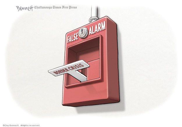 Cartoonist Clay Bennett  Clay Bennett's Editorial Cartoons 2019-02-16 editorial