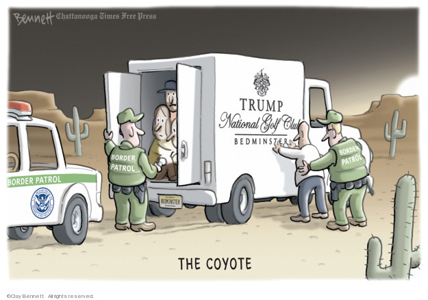 Clay Bennett  Clay Bennett's Editorial Cartoons 2019-02-19 Department of Homeland Security