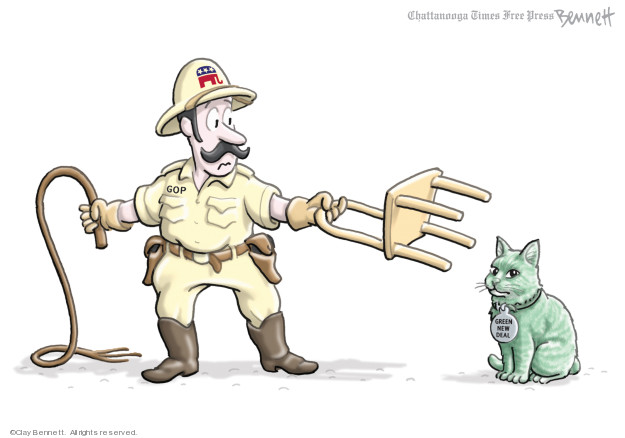 Clay Bennett  Clay Bennett's Editorial Cartoons 2019-02-22 party