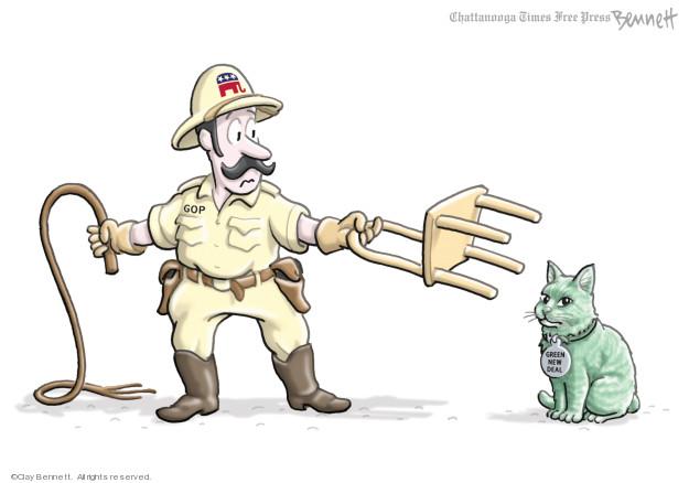 Clay Bennett  Clay Bennett's Editorial Cartoons 2019-02-22 political party