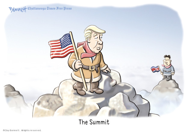 Cartoonist Clay Bennett  Clay Bennett's Editorial Cartoons 2019-03-01 weapon