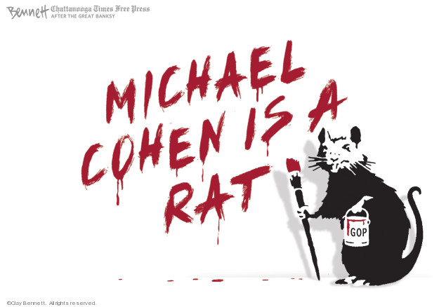 Michael Cohen is a rat. GOP.