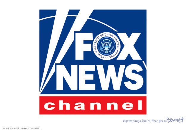 Seal of the President of the United States. Fox News Channel.